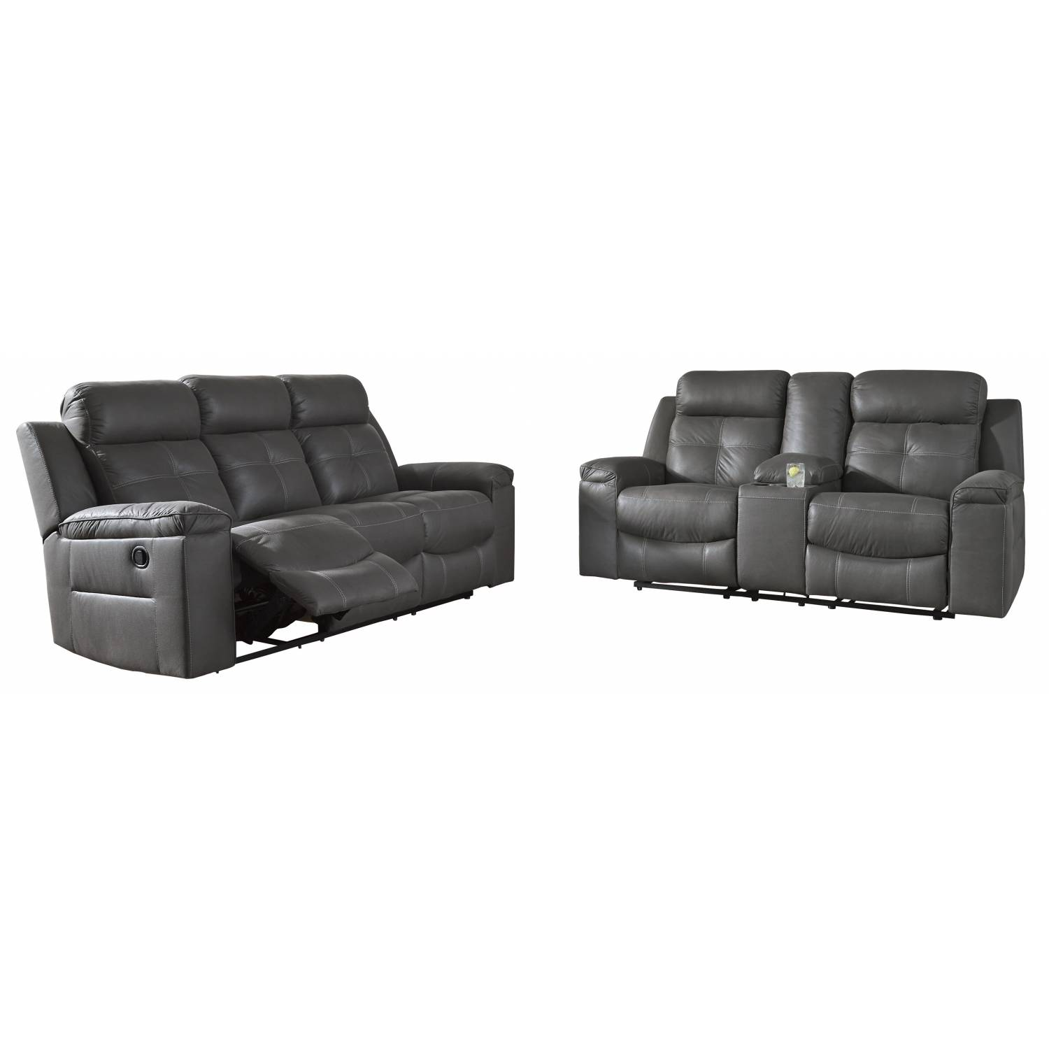 86705 Jesolo 2PC SETS Reclining Sofa + DBL Rec Loveseat w/Console