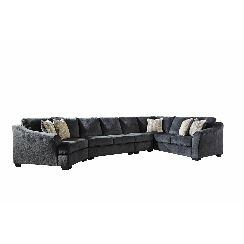 41303 Eltmann Raf Sofa W Corner Wedge Armless Loveseat Armless Chair Laf Cuddler