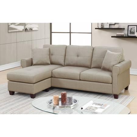 F6572 2-Pcs Sectional Sofa