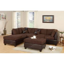F7615 Sectional w/ Ottoman
