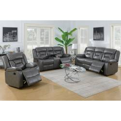 F6797+F6798+F6799 3PC SETS SOFA + LOVESEAT + Glider Recliner