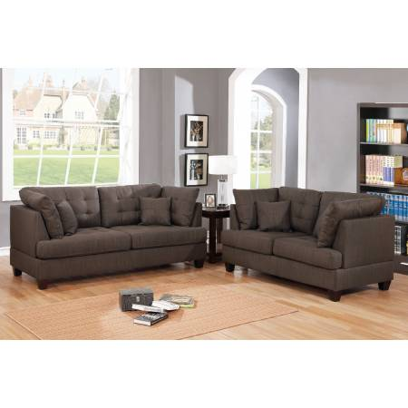 F6402 2-Pcs Sofa Set