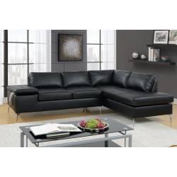 F6519 2-Pcs Sectional Sofa