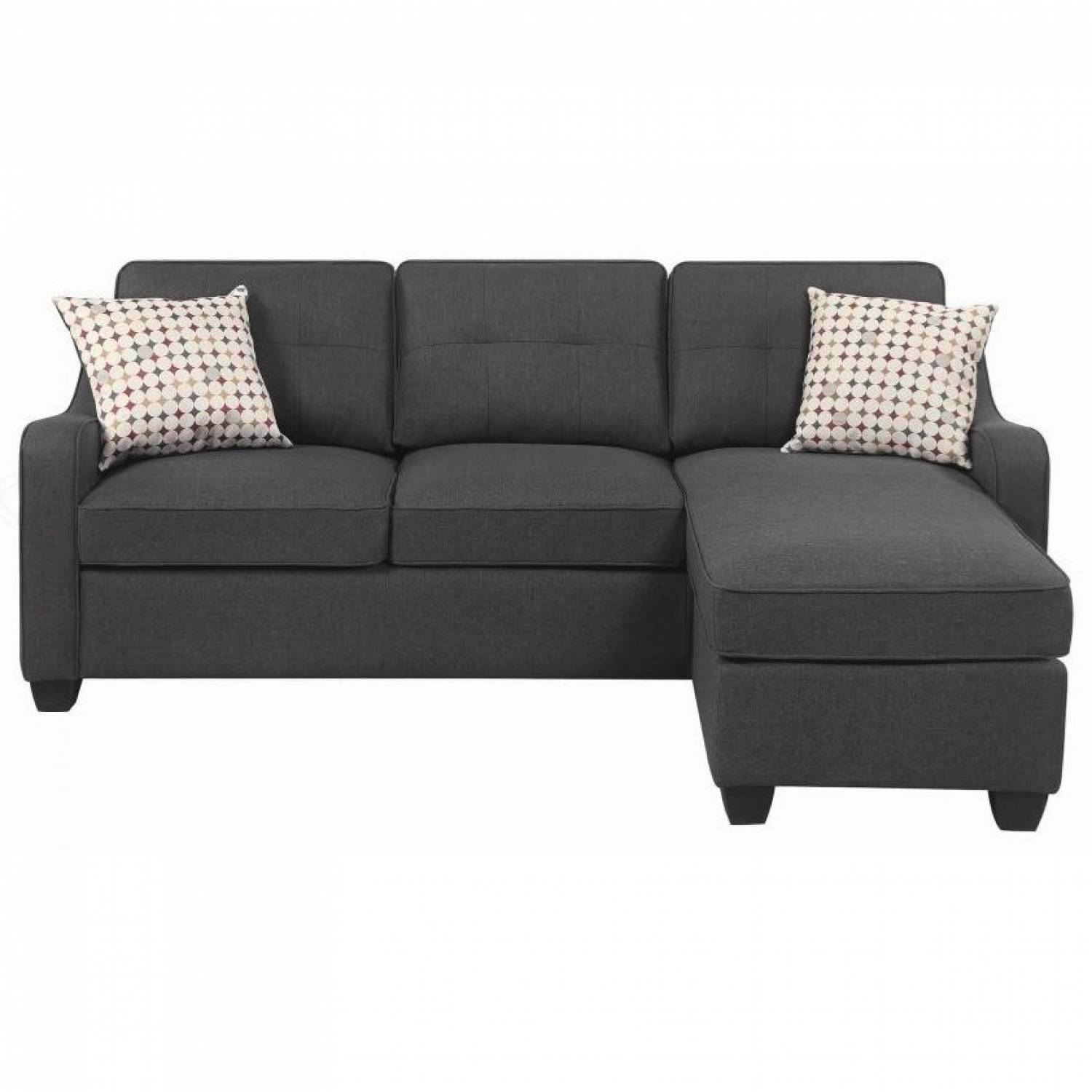 508320 Transitional Sectional With Chaise 508321