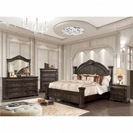 Genevieve Cal King Bedroom Set Cm7428kw Gr