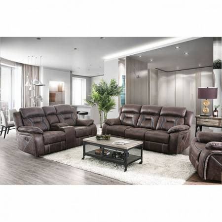 FLINT SOFA AND LOVE SEAT CM6565-GR