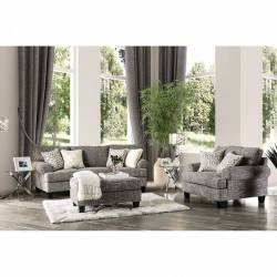 PIERPONT SOFA AND CHAIR WITH OTTOMAN SM8012-GR