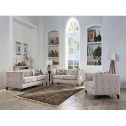 52055+52056+52057 FABRIC 3PC SETS SOFA + LOVESEAT + CHAIR