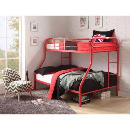 02043RD RED T/F BUNKBED KD VERSION