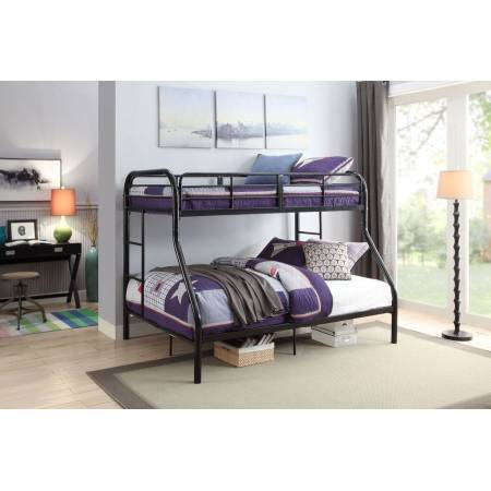 02043BK BLACK T/F BUNKBED KD VERSION