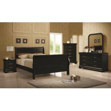 Louis Philippe Full Bedroom Group 203961F-Gr
