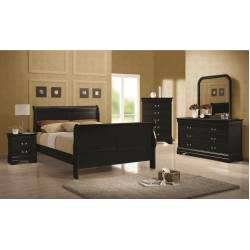 Louis Philippe Twin Bedroom Group 203961T-Gr