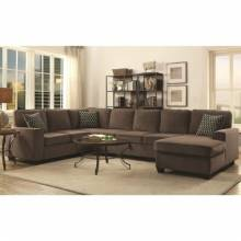 Provence Sectional with Chaise and Built-in Storage