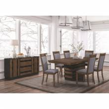 Octavia 7 PC SETS Table + 6 Chair