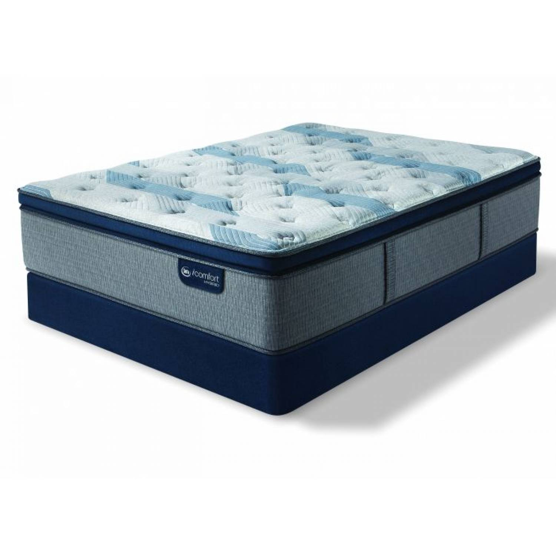 Blue Fusion 300 Plush Pillow Top Mattress Twin Xl Serta Icomfort