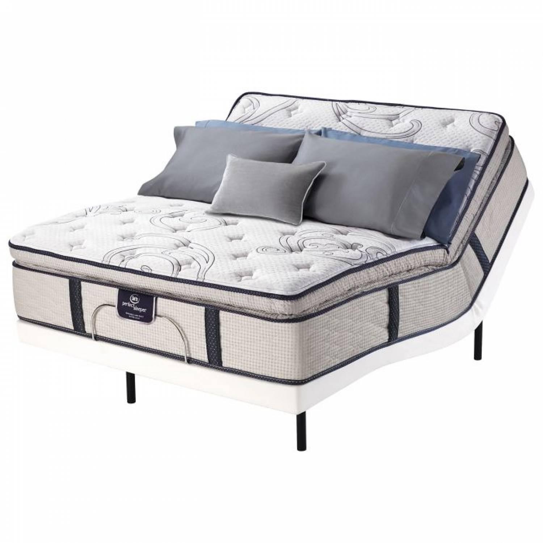 Kleinmon 500 Super Pillow Top Mattress Full Serta Perfect Sleeper
