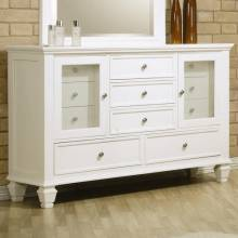 201303 Sandy Beach Dresser with 11 Drawers