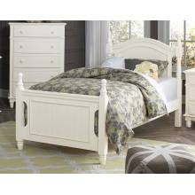 Clementine Bed - White B1799T-1