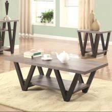 70539 Two-Tone Angled Leg Coffee Table  705398