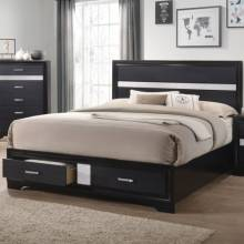 Miranda Queen Storage Bed with 2 Dovetail Drawers 206361Q