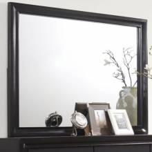 Miranda Mirror with Wood Frame 206364
