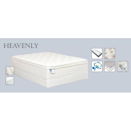 "Heavenly Euro Pillowtop Foam 15"" Queen"