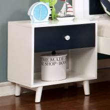 ALIVIA NIGHT STAND BLUES WHITE CM7850BL-R-N