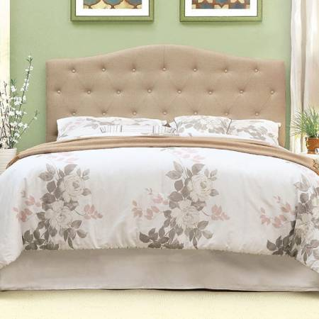 ALIPAZ HEADBOARD IVORY Queen Beds CM7989IV-HB-FQ