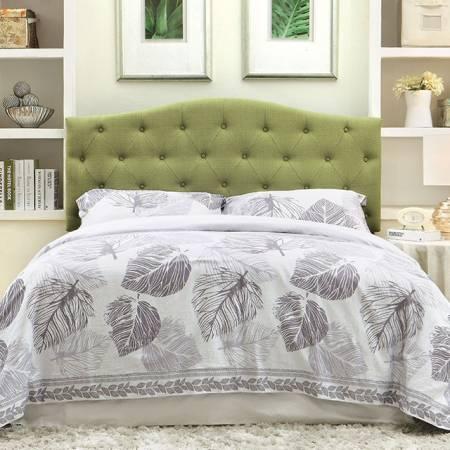ALIPAZ HEADBOARD GREEN Queen Beds CM7989GR-HB-FQ