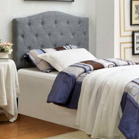 ALIPAZ HEADBOARD GRAY Queen Beds CM7989GY-HB-T
