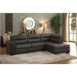 9924GRY* 2-Piece Sectional with Right Chaise Terza
