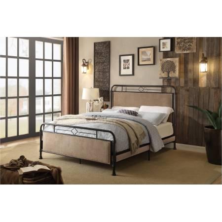 2867 Tayton Full Platform Metal Bed