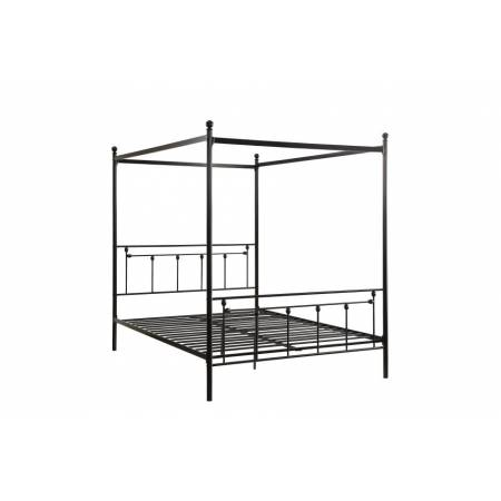1761 Twin Canopy Platform Bed