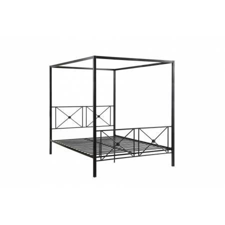 1759 Twin Canopy Platform Bed