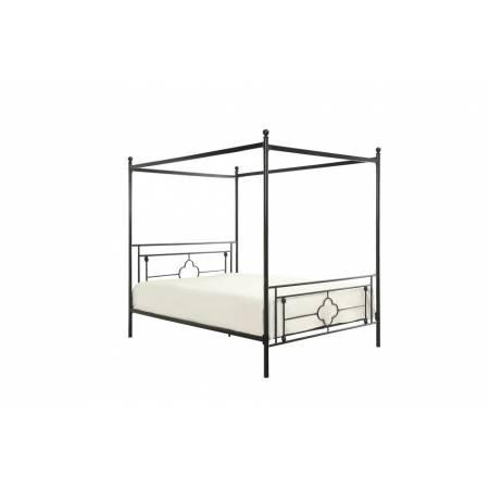 1758 Hosta Twin Canopy Platform Bed