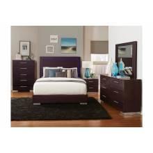 1706LED Moritz California King bed, LED Lighting
