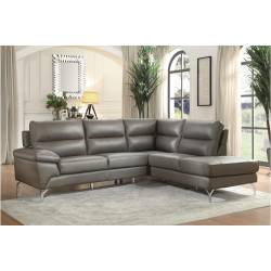 9969GY Cairn 2PC SET: SECTIONAL