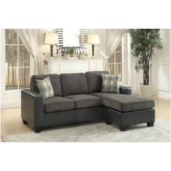 8401GY-3SC Slater Reversible Sofa Chaise