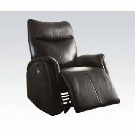 BLACK ROCKER RECLINER 59435