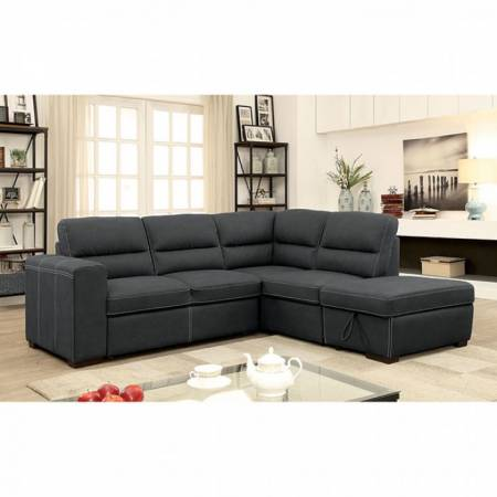 NELLIE SECTIONAL W/PULL OUT SLEEPER