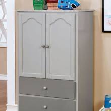 DIANE ARMOIRE Gray finish