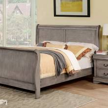 EUGENIA CAL.KING BED Gray finish