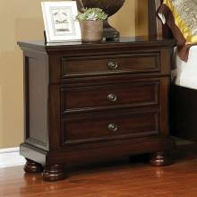 CASTOR NIGHT STAND Brown cherry finish