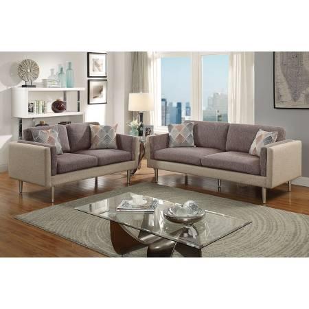 2-Pcs Sofa Set F6556
