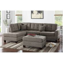 3-Pcs Sectional Sofa F6504