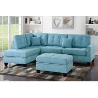 3-Pcs Sectional Sofa F6505