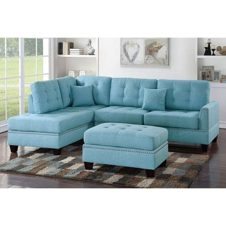 3-Pcs Sectional Sofa F6505
