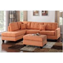3-Pcs Sectional Sofa F6506