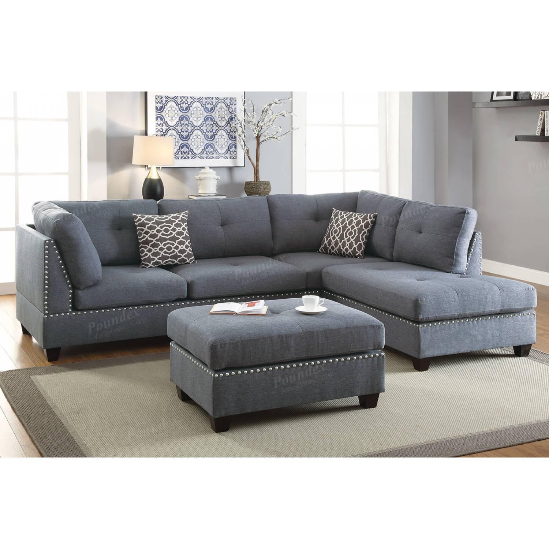 3-Pcs Sectional Sofa F6975