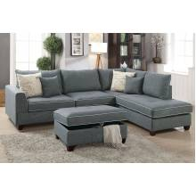 3-Pcs Sectional Sofa F6542
